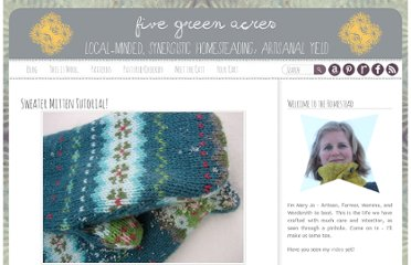 http://www.fivegreenacres.com/wp/2009/12/07/sweater-mitten-tutorial/