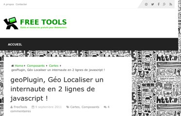 http://free-tools.fr/composants/geoplugin-geo-localiser-un-internaute-en-2-lignes-de-javascript-3823/