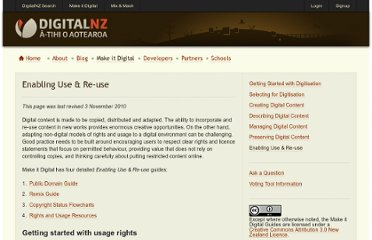 http://www.digitalnz.org/make-it-digital/enabling-use-re-use