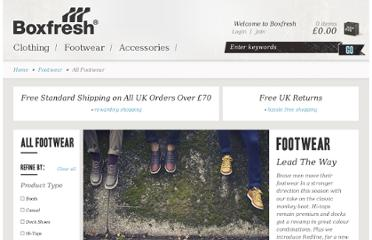http://www.boxfresh.co.uk/c/footwear/all-footwear/?page=11