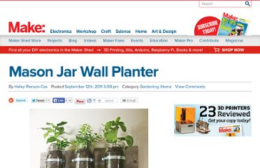 http://blog.makezine.com/craft/mason_jar_wall_planter/