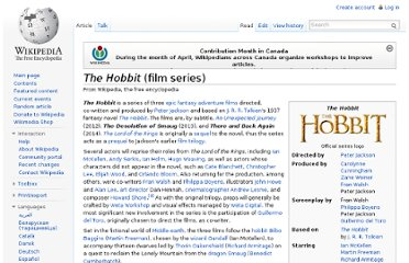 http://en.wikipedia.org/wiki/The_Hobbit_(film_series)