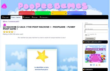 http://www.poopeegames.com/la-machine-a-caca-the-poop-machine/