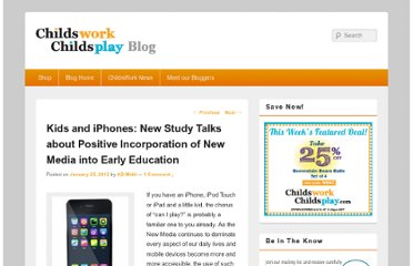 http://www.childswork.com/blog/2012/01/kids-and-iphones-new-study-talks-about-positive-incorporation-of-new-media-into-early-education/