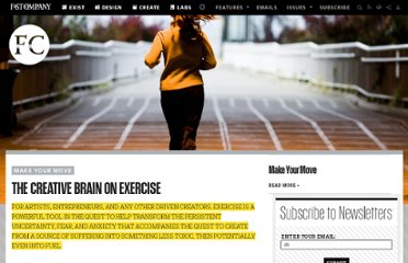 http://www.fastcompany.com/1783263/creative-brain-exercise