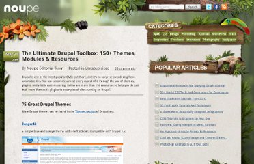 http://www.noupe.com/tools/the-ultimate-drupal-toolbox.html