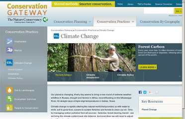 http://www.conservationgateway.org/ConservationPractices/ClimateChange/Pages/climate-change.aspx