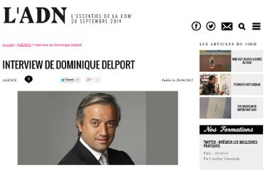 http://www.docnews.fr/actualites/agence,interview-dominique-delport,29,13638.html