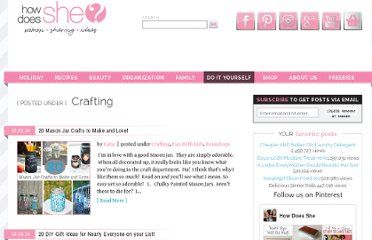 http://www.howdoesshe.com/category/do-it-herself/crafting/