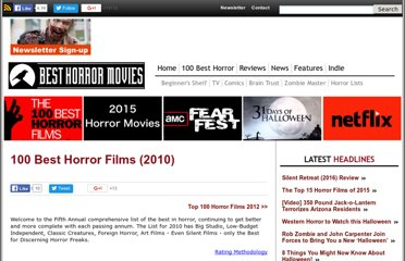 http://www.best-horror-movies.com/100-best-horror-films
