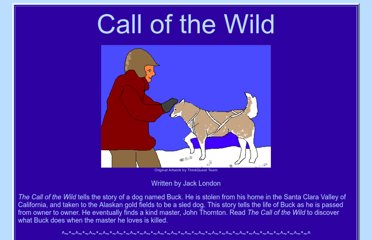 http://www.mce.k12tn.net/dogs/call/call_of_the_wild.htm