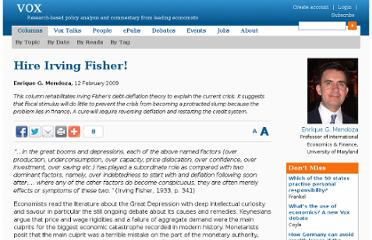 http://www.voxeu.org/article/crisis-lessons-irving-fisher-fix-debt-deflation-disease-not-its-symptoms