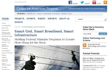 http://www.americanprogress.org/issues/technology/report/2009/04/08/5992/smart-grid-smart-broadband-smart-infrastructure/