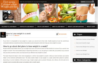 http://howmanycaloriestoloseweightperday.com/790/how-to-lose-weight-in-a-week/
