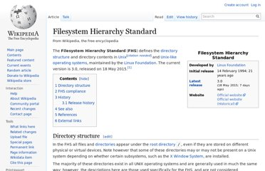 http://en.wikipedia.org/wiki/Filesystem_Hierarchy_Standard
