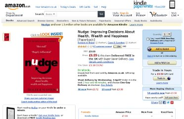 http://www.amazon.co.uk/Nudge-Improving-Decisions-Health-Happiness/dp/0141040017
