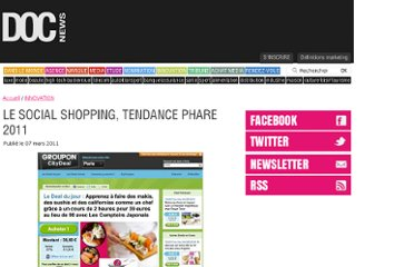 http://www.docnews.fr/actualites/innovation,social-shopping-tendance-phare-2011,34,8264.html
