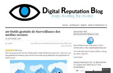 http://digitalreputationblog.wordpress.com/2009/09/28/outils-de-surveillance/