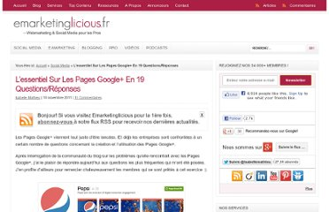 http://www.emarketinglicious.fr/social-media/essentiel-pages-google-plus-18-questions-reponses