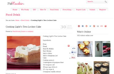 http://www.pincookie.com/cooking-lights-tres-leches-cake/