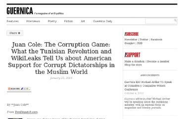 http://www.guernicamag.com/daily/juan_cole_the_corruption_game/