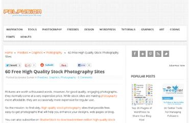 http://pelfusion.com/60-free-high-quality-stock-photography-sites/
