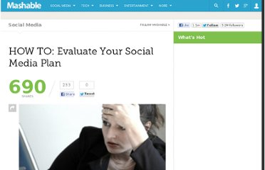 http://mashable.com/2010/06/25/evaluate-social-media-plan/