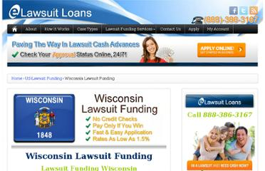http://elawsuitloans.com/us/wisconsin-lawsuit-funding