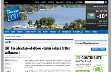 http://www.thesudburystar.com/2009/12/05/ent-the-advantage-of-ebooks-online-column-by-bob-vaillancourt