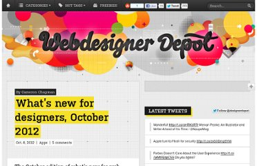 http://www.webdesignerdepot.com/2012/10/whats-new-for-designers-october-2012/