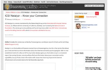 http://www.freewaregenius.com/icsi-netalyzr-know-your-connection/