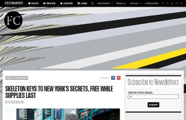 http://www.fastcompany.com/1658516/skeleton-keys-new-yorks-secrets-free-while-supplies-last