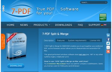 http://www.7-pdf.de/en/products/7-pdf-split-merge