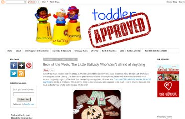 http://www.toddlerapproved.com/2011/10/book-of-week-little-old-lady-who-wasnt.html