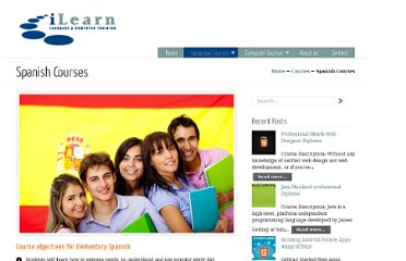 http://ilearn-edu.com/i-learn-courses/language-courses/spanish-courses/