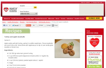 http://www.heartandstroke.com/site/c.ikIQLcMWJtE/b.4821605/k.3F42/Recipes__Turkey_and_apple_meatballs.htm