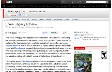 http://www.ign.com/articles/2009/04/15/elven-legacy-review