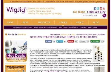 http://www.wigjig.com/for-beginners/basics/948-getting-started-making-jewelry-with-beads