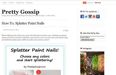 http://prettygossip.com/2012/06/25/how-to-splatter-paint-nails/