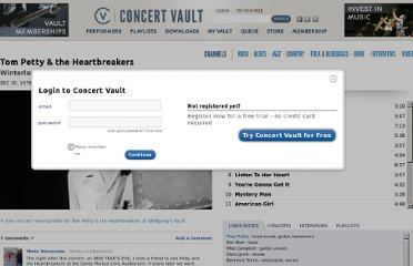 http://www.wolfgangsvault.com/tom-petty-and-the-heartbreakers/concerts/winterland-december-30-1978.html?type=video&track=1855391900