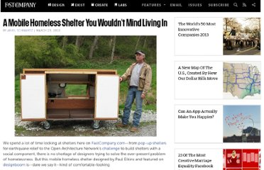 http://www.fastcompany.com/1594990/mobile-homeless-shelter-you-wouldnt-mind-living