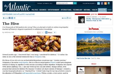 http://www.theatlantic.com/magazine/archive/2006/09/the-hive/305118/