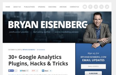 http://bryaneisenberg.com/google-analytics-plugins-hacks/