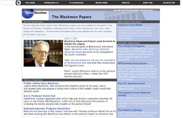 http://www.pbs.org/newshour/bb/law/supreme_court/blackmun/