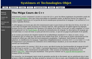 http://casteyde.christian.free.fr/cpp/cours/index.html