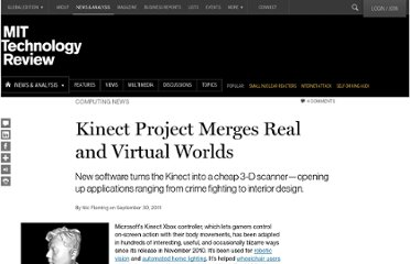 http://www.technologyreview.com/news/425594/kinect-project-merges-real-and-virtual-worlds/