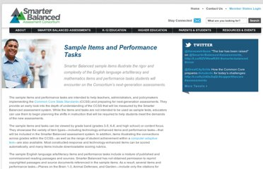 http://www.smarterbalanced.org/sample-items-and-performance-tasks/