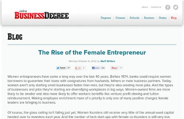 http://www.onlinebusinessdegree.org/2012/10/08/female-entrepreneurs/