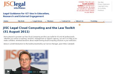 http://www.jisclegal.ac.uk/ManageContent/ViewDetail/ID/2135/JISC-Legal-Cloud-Computing-and-the-Law-Toolkit-31-August-2011.aspx