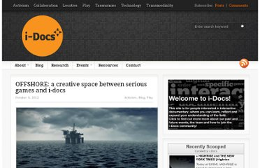 http://i-docs.org/2012/10/09/offshore-a-creative-space-between-serious-games-and-i-docs/